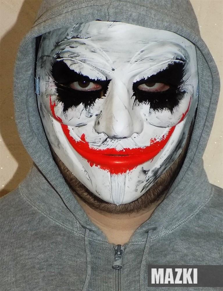 Джокер маска как сделать