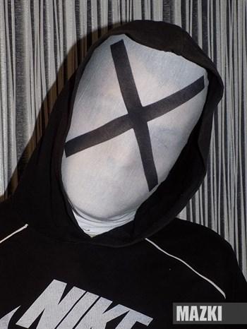 """Маска хакера MRX (из фильма """"Кто Я"""")"""