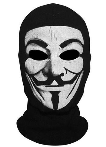 Маска-балаклава Гай Фокс / Вендетта / Анонимус