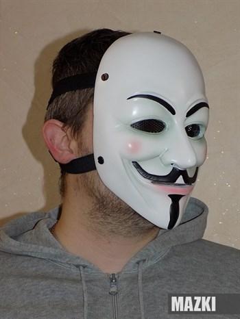 Ударопрочная маска Гай Фокс / Анонимус / Вендетта