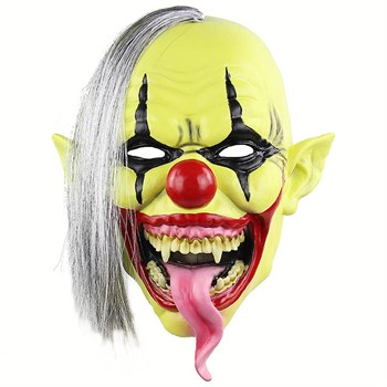 Страшный обезумевший клоун - фото 31841