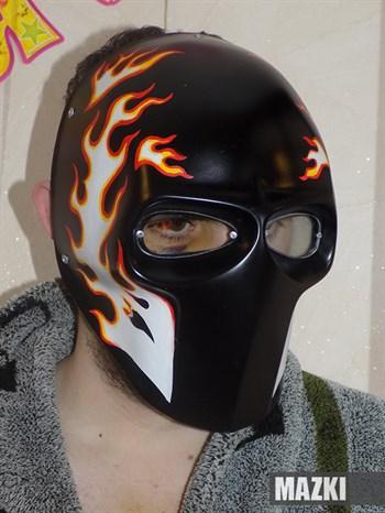 Fire on black - фото 33811