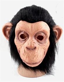 Маска голова шимпанзе