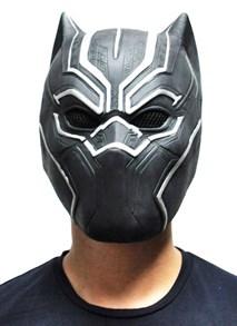 маска из латекса черная пантера black panther