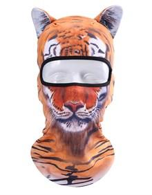 МАСКА БАЛАКЛАВА С УШАМИ (ушками) BB G02 (тигр)