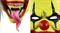 Страшный обезумевший клоун - фото 31846