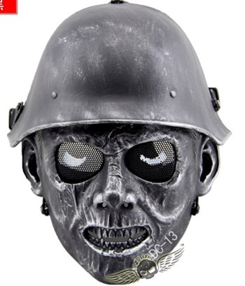 Маска солдата-зомби