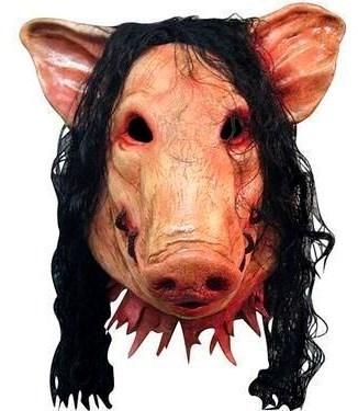 """Маска Свиньи, из фильма """"Пила"""""""