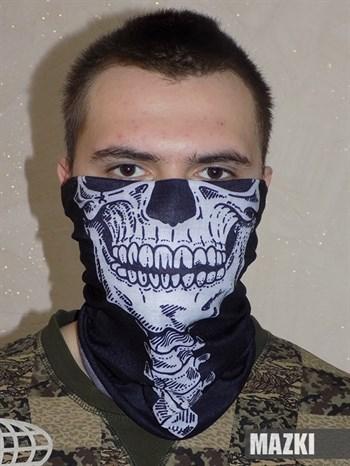 маска баф труба шарф череп
