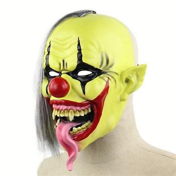 Страшный обезумевший клоун - фото 31842