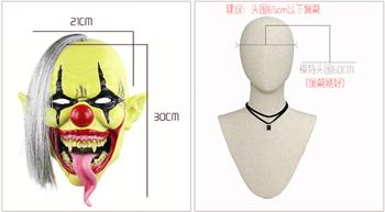 Страшный обезумевший клоун - фото 31847