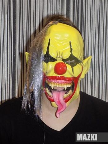 Страшный обезумевший клоун - фото 31861