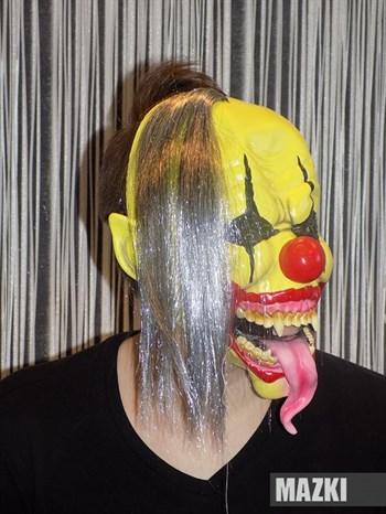 Страшный обезумевший клоун - фото 31862