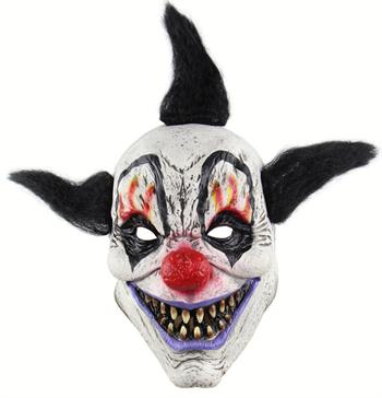 Довольный черный клоун - фото 32524