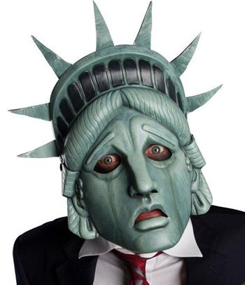 Унылая Статуя Свободы - фото 36995