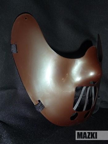Маска Ганнибала Лектера (коричневая)