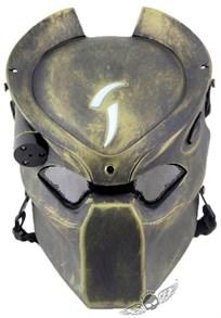 Маска Хищника / Predator, с лазерной подсветкой