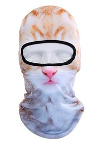 Маска-балаклава BB B10 (Рыжая киска/котенок)