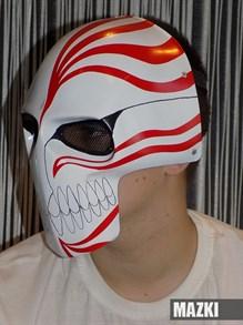 ударопрочная маска Ичиго (Пустой / Блич)