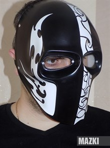 Ударопрочная маска TRIBAL (для пейнтбола и страйкбола)