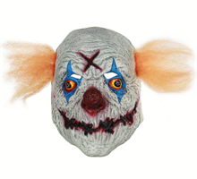 Клоун с зашитым ртом