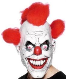 Клоун из пранков, с красными волосами