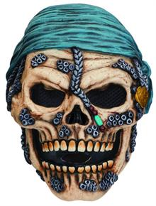 Череп пирата с косынкой