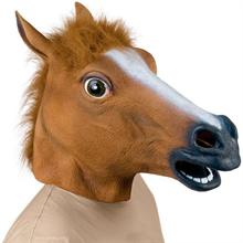 Маска Коня (коричневая)