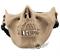 ударопрочная маска челюсть скелета