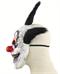 Довольный черный клоун - фото 32526