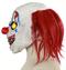 Страшный клоун с желтыми глазами - фото 32692