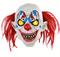 Страшный клоун с желтыми глазами - фото 32694