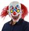 Страшный клоун с желтыми глазами - фото 32695