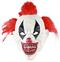 Сумасшедший клоун с красными волосами - фото 36765